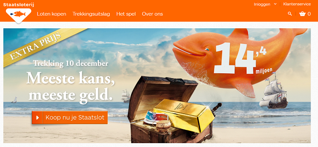 How do you win 10.000 euros for the next 30 years at the Dutch State Lottery?