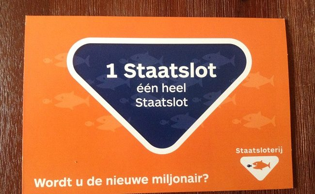 Resident from Enschede wins 30 million euros in Dutch State Lottery